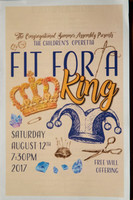 Fit for a King Children's Operetta